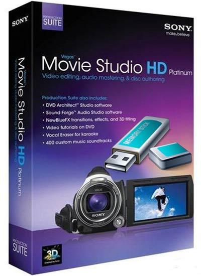 Sony Vegas Movie Studio HD Platinum 11 0 283 with DVD